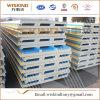 El panel de emparedado incombustible del poliuretano del material de construcción para la estructura de acero