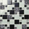 Mosaico delle mattonelle 2017 di disegno moderno di vetro e del marmo