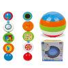 Bola inteligente de brinquedo de aprendizagem de plástico para bebê (H0080282)