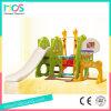 Altos juguetes plásticos de la diapositiva y del oscilación de Wuality del Ce con el aro del balompié y de baloncesto (HBS17028C)
