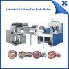 Artesanía de té de latas de metal de latas de automóviles de bloqueo automático Seamer Machinery