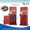 Prensa viva inútil de los desperdicios de la maquinaria de la prensa de la basura del hogar de la nave/del infante de marina hidráulico
