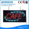 Muestra electrónica del café LED del rectángulo de Hidly