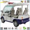 Автомобиль общественной безопасности 4 мест электрический с лампой аварийной сигнализации