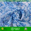 Blaue Blumen-einfaches gedrucktes Chiffon- Gewebe für Dame Clothing