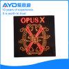 Cuadrado de Hidly la muestra de América Opusx LED