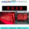 P25 singola visualizzazione esterna di massaggio di colore rosso LED