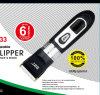 Cizalla y condensador de ajuste recargables sin cuerda de pelo para Rpo