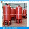 De professionele Rode Kleur van Wirh van de Tank van het Water van het Koolstofstaal van de Vervaardiging