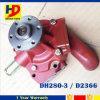 Bomba de água do jogo do motor Diesel de cor vermelha Dh280-3 D2366