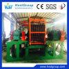 Машина шредера покрышки/неныжный завод по переработке вторичного сырья покрышки/используемый шредер автошины