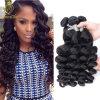 Onda frouxa acessória de venda quente do cabelo brasileiro da cor #1b (FDXI-BB-119)