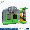 子供のためのスライドが付いている膨脹可能な跳躍の警備員の家
