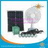 Kits caseros solares de la iluminación con el ventilador solar ligero solar del panel solar