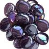Камушки ямы пожара перлы пурпуровые