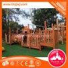 Matériel en bois extérieur de cour de jeu d'amusement d'enfants