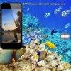 Câmera de vídeo subaquática Mini Fish Pistola de busca sem fio com 8 luzes LED Vis Fish 4