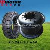 Borde de acero industrial de la rueda (5.00s-12)
