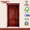 ヨーロッパの家の入口の木製のドア(XS2-069)