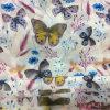 새로운 신선한 나비 폴리에스테에 의하여 인쇄되는 시퐁 복장 의복 직물