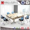 会議(NS-CF015)のための組合せの折りたたみ式テーブルの正方形の形の会合表