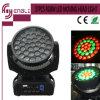 37PCS RGBW com luz principal movente da lavagem do diodo emissor de luz da lâmpada do CREE