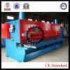 Máquina de corte hidráulica da placa de aço do CNC QC11K-25X3200, corte do CNC