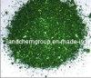 Oxalate básico do cristal do verde 4 (VERDE da MALAQUITE)