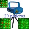 het MiniLicht van de Laser 160mW RG, 20 Animatie van Soorten