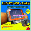 De Apparatuur van de Test van kabeltelevisie van de Camera van de Veiligheid van de pols voor Camera Ahd+Tvi+Cvi+Analog met LCD van 5 Duim Monitor