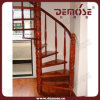 Mini escalera de madera dura espiral (DMS-S1039)