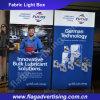 전시를 위한 알루미늄 LED 직물 가벼운 상자를 설치하게 2016발의 대중적인 쉬운