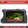 Reproductor de DVD del coche para el reproductor de DVD de Pure Android 4.4 Car con A9 CPU Capacitive Touch Screen GPS Bluetooth para Ssangyong Kyron (AD-7161)