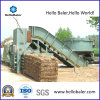 Hydraulic semi-automatique Cylinder Hay Baler pour Compact Straw
