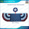 210d Nylon Embroidered PatrioticアメリカのFlag Bunting (J-NF16P18002)