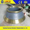Parti del frantoio del cono del manganese del fornitore della Cina alte