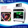 Photo Frame Inside Engraving Machine Priceのより高いSpeed 5k 3DレーザーEngraver Machine 3DレーザーCrystal