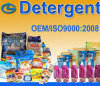Detergente de empacotamento pequeno do agregado familiar com ISO9000: 2008 Certificated