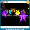 Evento de venda quente, estrela inflável de suspensão ao ar livre no. 12409 da decoração do Natal com luz do diodo emissor de luz para a venda