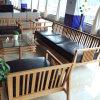Sofá de bambu horizontal carbonizado chinês