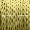 Kitt-Baumwolle geflochtenes verdrehtes Kabel, Leistungs-Netzkabel, Lampen-Draht