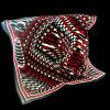 Omfloers de Vierkante Sjaal van de Zijde van DE Chine Printed