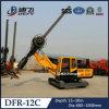 Completa rotación hidráulica Dfr - 12c Máquina Pequeño Tornillo Pila de conducción