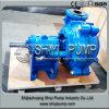 Pompe centrifuge rayée par caoutchouc lourd chaud de produits de queue de traitement des eaux de vente