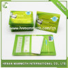1/24 de tampa impermeável descartável 6PCS do papel do assento de toalete da impressão da dobra