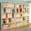 Мебель подвижных книжных полок самомоднейшей конструкции книжных полок деревянная