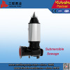 Steel inoxidável Submersible Sewage Pump para Dirty Water