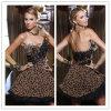 Новое платье Du9 выпускного вечера леопарда конструкции 2012
