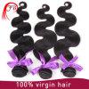 卸し売りに加工されていない100%年にバージンのRemyのブラジルに人間の毛髪の編むこと