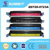 Color Toner Cartridge will be HP 9720, 9721, 9722, 9723 (HP-9720-3A, HP641A)